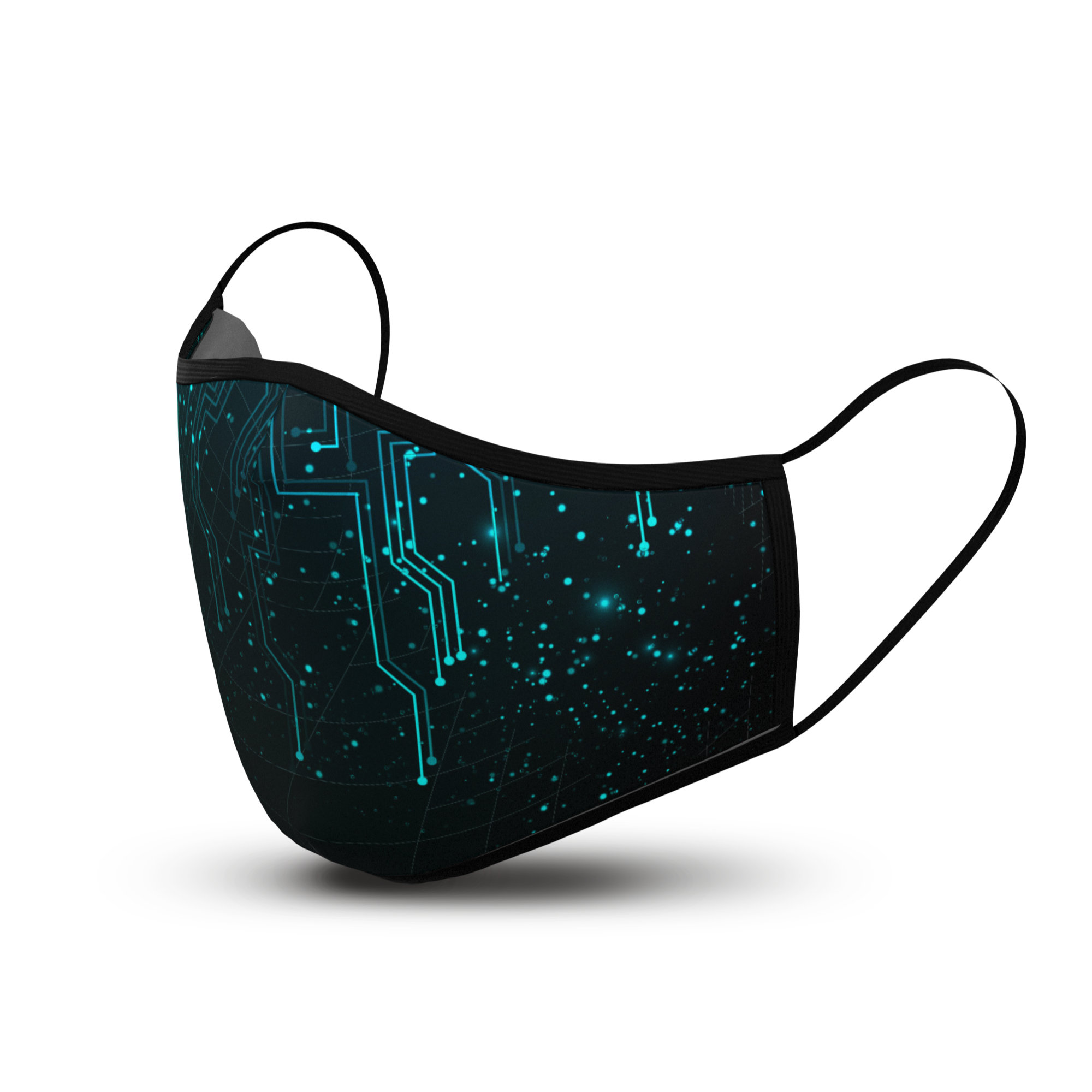 Circuit Galaxy - Custom Cloth Face Mask Covering