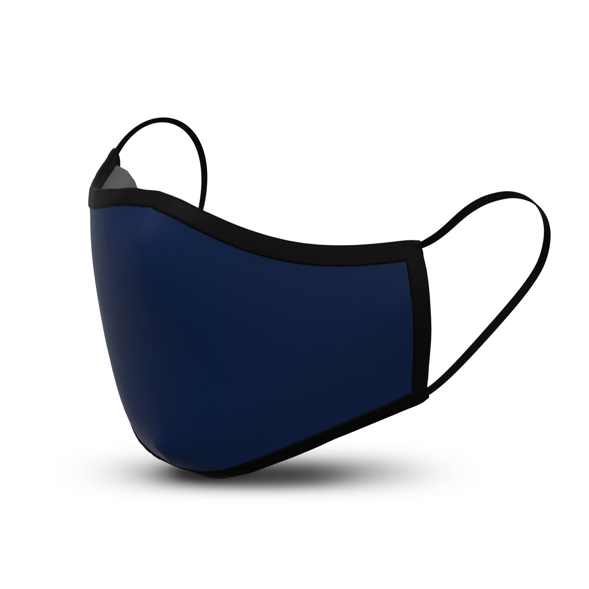 Navy - Custom Cloth Face Mask Covering